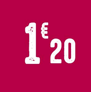 1,20€ de remise
